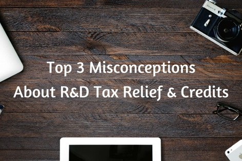 misconception about RD tax relief and credits
