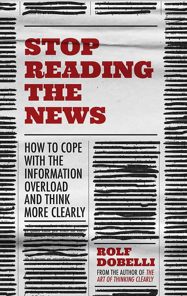 stop reading the news books